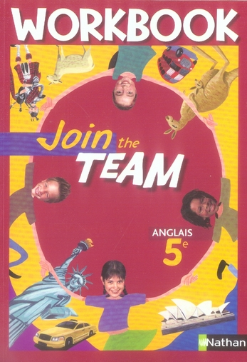 JOIN THE TEAM 5E WORKBOOK