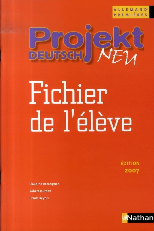 PROJEKT DEUTSCH NEU 1E ELEV 07