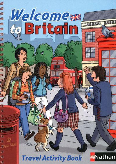 WELCOME TO BRITAN  TRAVEL CTIVITY BOOK - SPEAKEASY