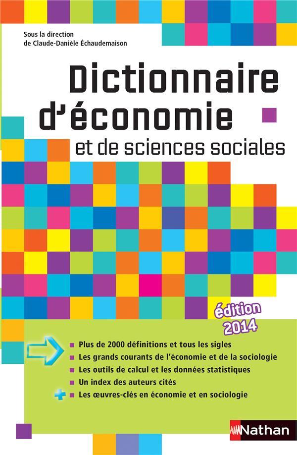 DICT ECONOMIE ET SC. SOCIALES