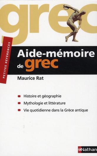 RAT AIDE MEMOIRE DE GREC