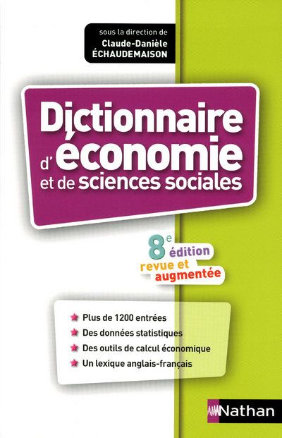 DICT ECONOMIE & SCIENCES SOCIA