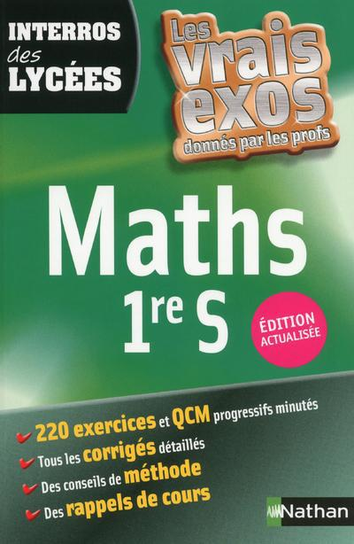 INTERROS DES LYCEE MATHS 1RE S