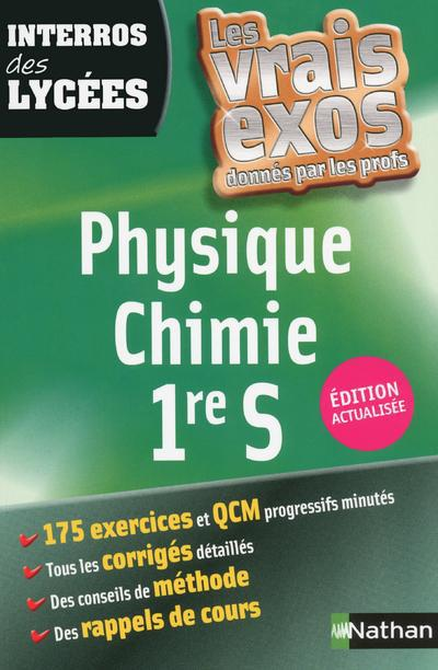 INTERROS LYCEES PHYS CHIMIE 1S