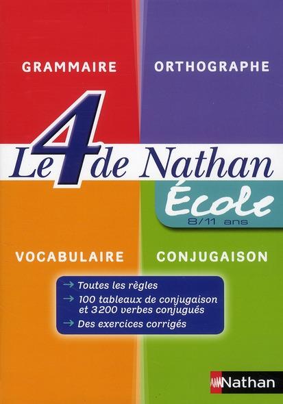 LE 4 DE NATHAN ECOLE