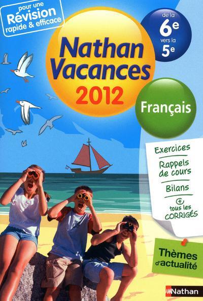 CDV 2012 FRANCAIS 6E/5E
