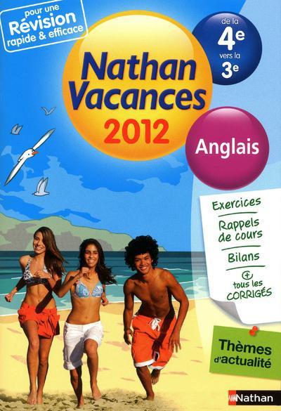 CDV 2012 ANGLAIS 4E/3E
