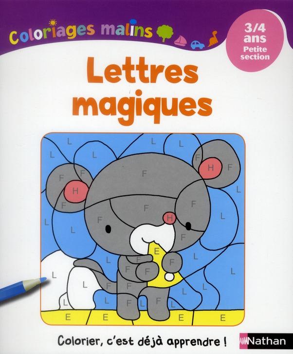 LETTRES MAGIQUES 3/4 ANS PS