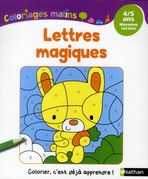 LETTRES MAGIQUES 4/5 ANS MS