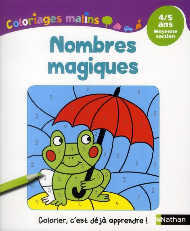 NOMBRES MAGIQUES MS 4/5 ANS