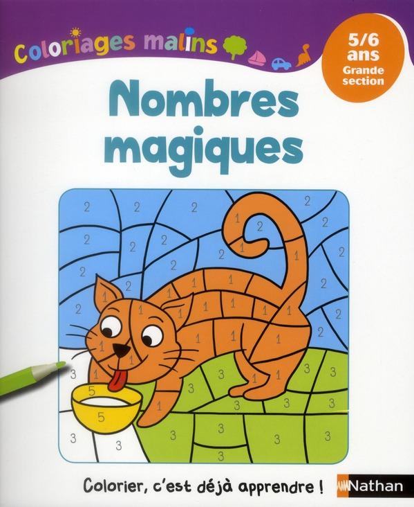 NOMBRES MAGIQUES GS 5/6 ANS