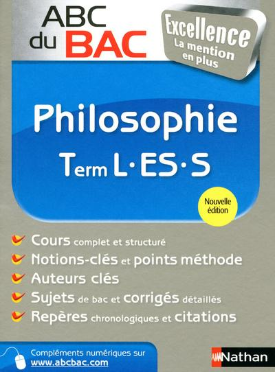 ABC BAC EXCELL PHILO TER L-ES-