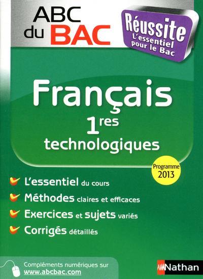 ABC REUSSITE FRANCAIS 1ERE TEC