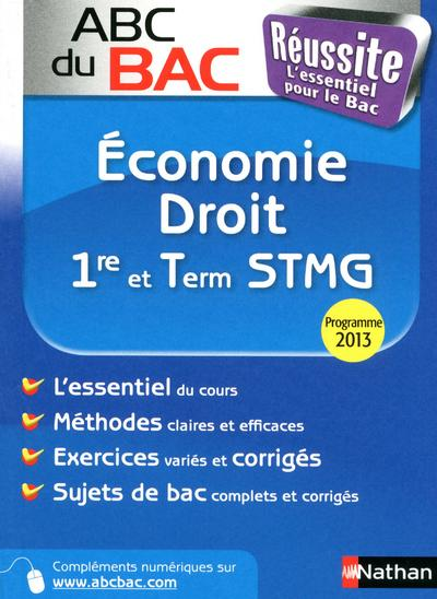 ABC BAC REUSSITE ECO/DROIT 1RE