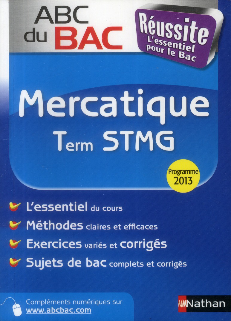 ABC BAC REUSSITE MERCATIQ TERM