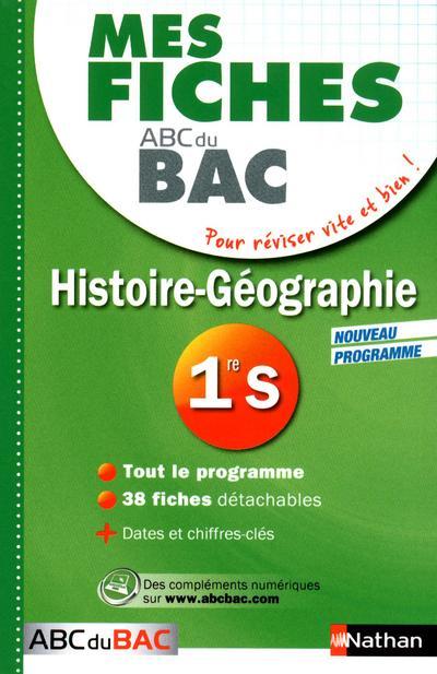 MES FICHES ABC BAC HIST-GEO 1E