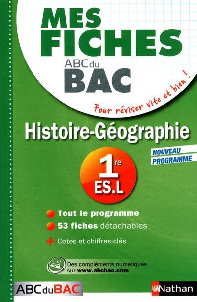 MES FICHES ABC BAC HIST GEO 1E