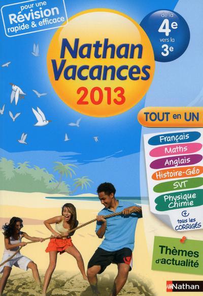 CDV 2013 TOUT EN UN 4E/3E