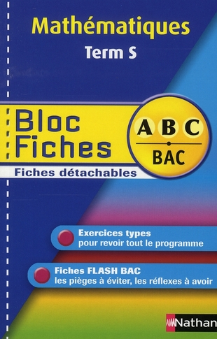 BLOC FICHES ABC MATHS TERM S