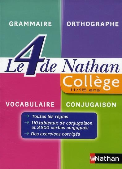 LE 4 DE NATHAN COLLEGE