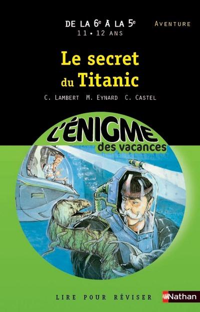 ENIGME VACANCES 6E A 5E SECRET