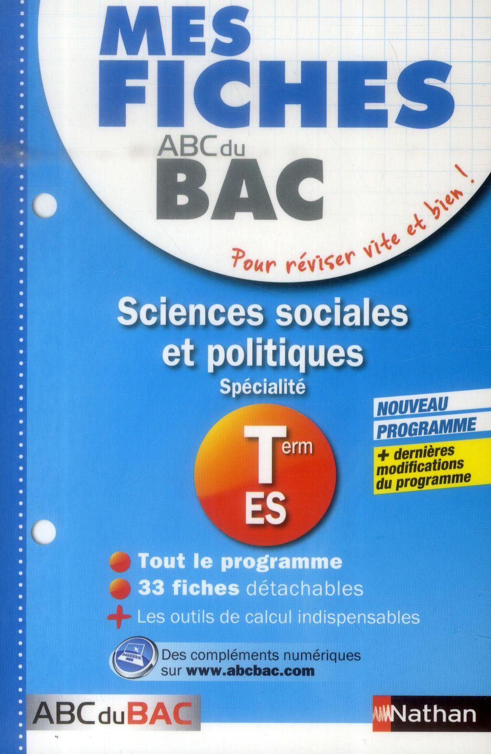 MES FICHES ABC BAC SCI SOCIALE