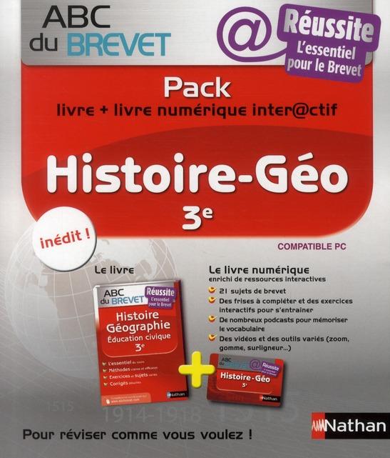 PACK ABC REUSSITE HIST/GEO 3E