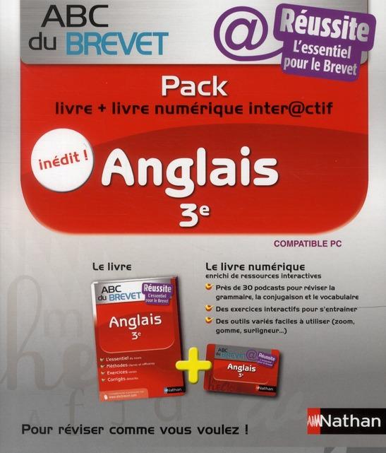 PACK ABC REUSSITE ANGLAIS 3E