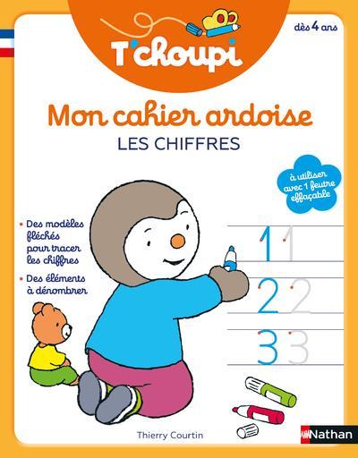 T'CHOUPI - MON CAHIER ARDOISE - LES CHIFFRES