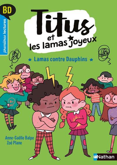 BD PREMIERES LECTURES - TITUS ET LES LAMAS JOYEUX - TOME 3 LAMAS CONTRE DAUPHINS - VOL03