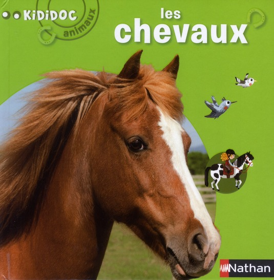 N04 - LES CHEVAUX - KIDIDOC ANIMAUX