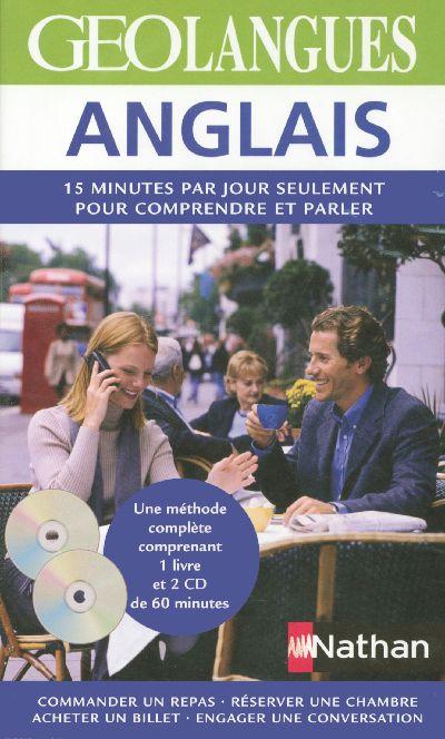 PACK GEOLANGUES ANGLAIS LIV+CD