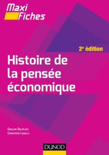 MAXI FICHES - HISTOIRE DE LA PENSEE ECONOMIQUE - 2E ED.