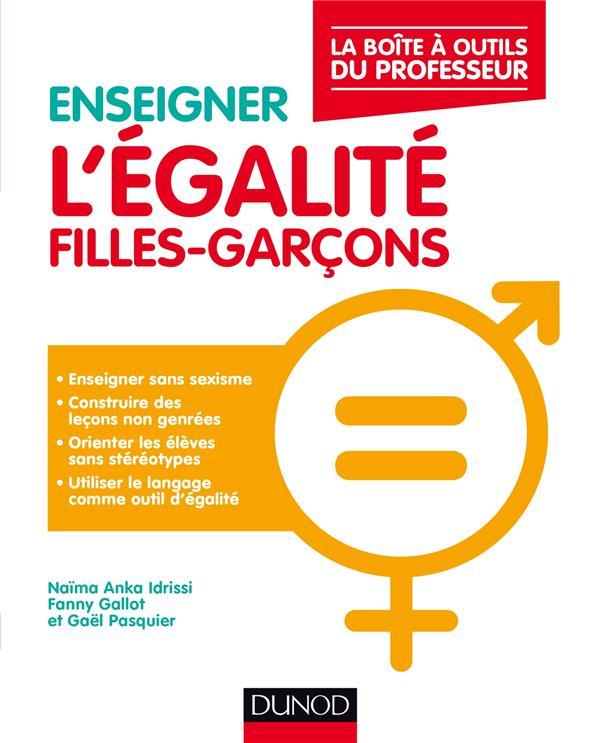 ENSEIGNER L'EGALITE FILLES-GARCONS - LA BOITE A OUTILS DU PROFESSEUR
