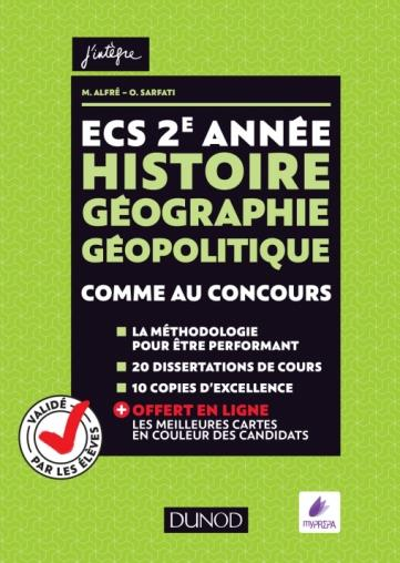 ECS 2E ANNEE - HISTOIRE GEOGRAPHIE GEOPOLITIQUE - COMME AU CONCOURS !