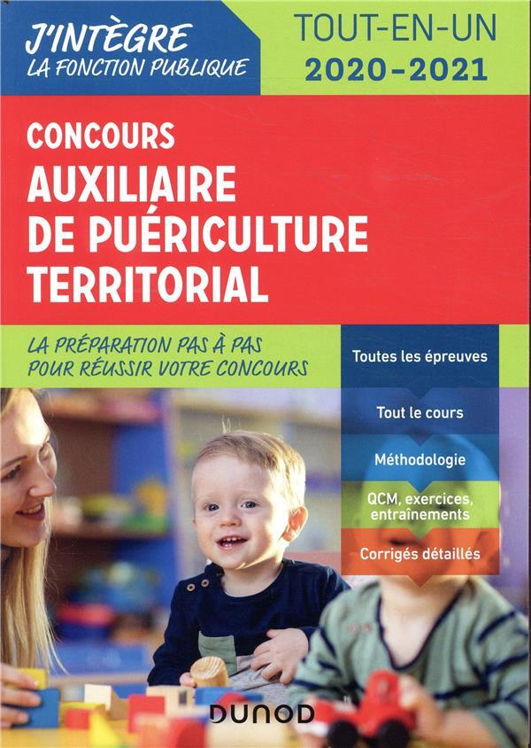 CONCOURS AUXILIAIRE DE PUERICULTURE TERRITORIAL 2020-2021 - TOUT-EN-UN