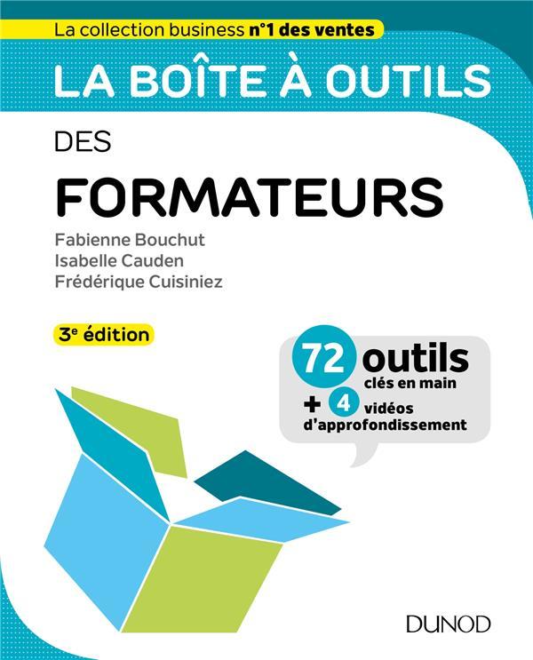 LA BOITE A OUTILS DES FORMATEURS - 3E ED.