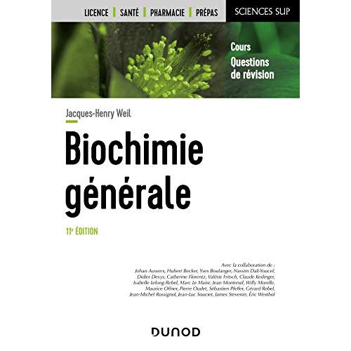 BIOCHIMIE GENERALE - 11E ED.