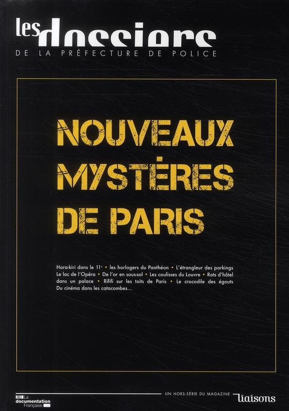 NOUVEAUX MYSTERES DE PARIS N 1 JANVIER 2009