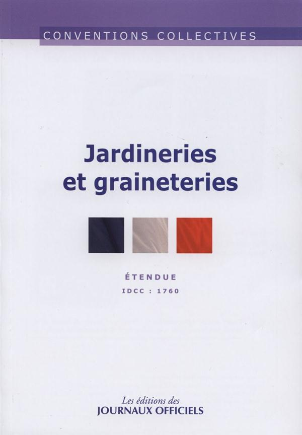 JARDINERIES ET GRAINETRIES - CC N 3272 (7ED)