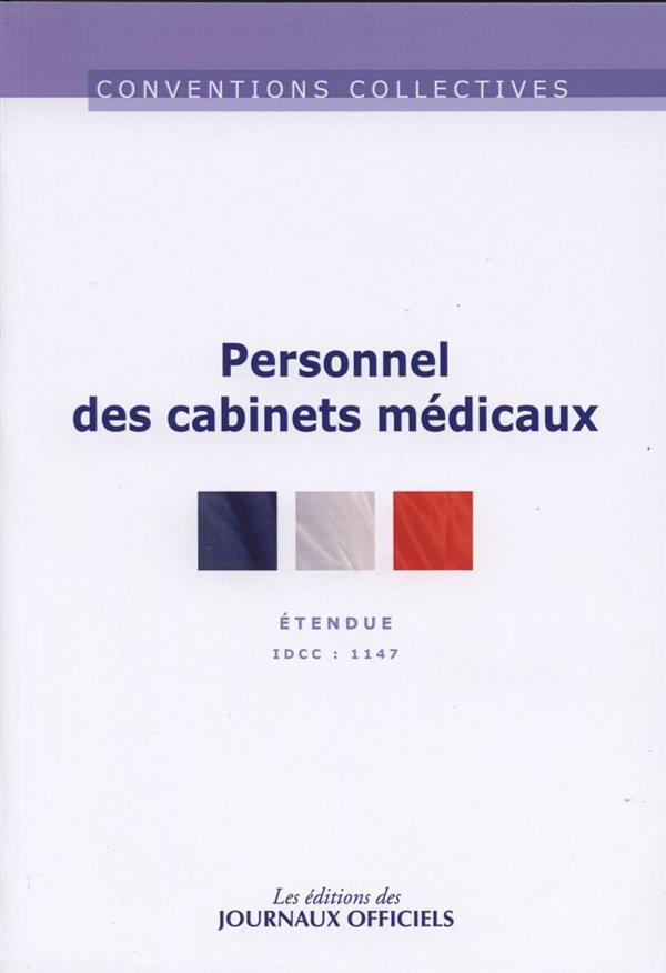 PERSONNEL DES CABINETS MEDICAUX N 3168