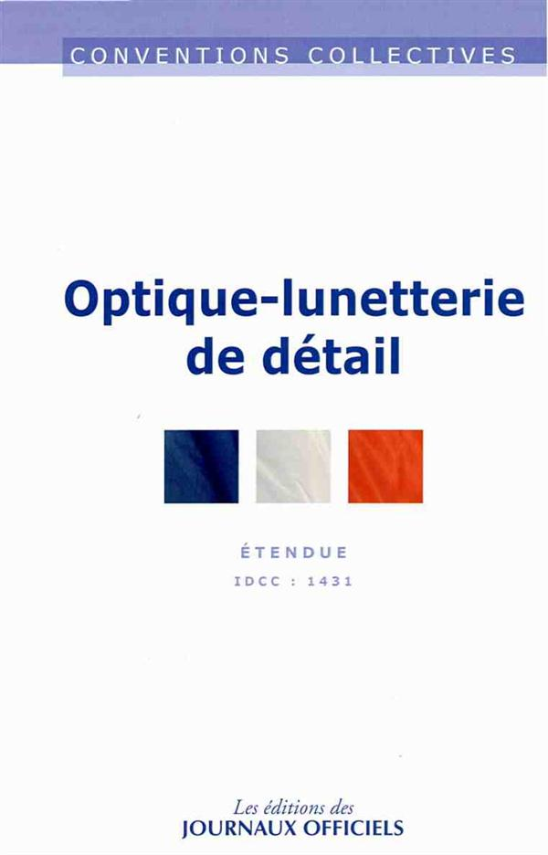 OPTIQUE-LUNETTERIE DE DETAIL (12ED) - CC N 3084