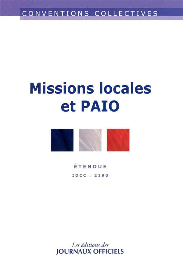 MISSIONS LOCALES PAIO 5EME EDITION - CC3304