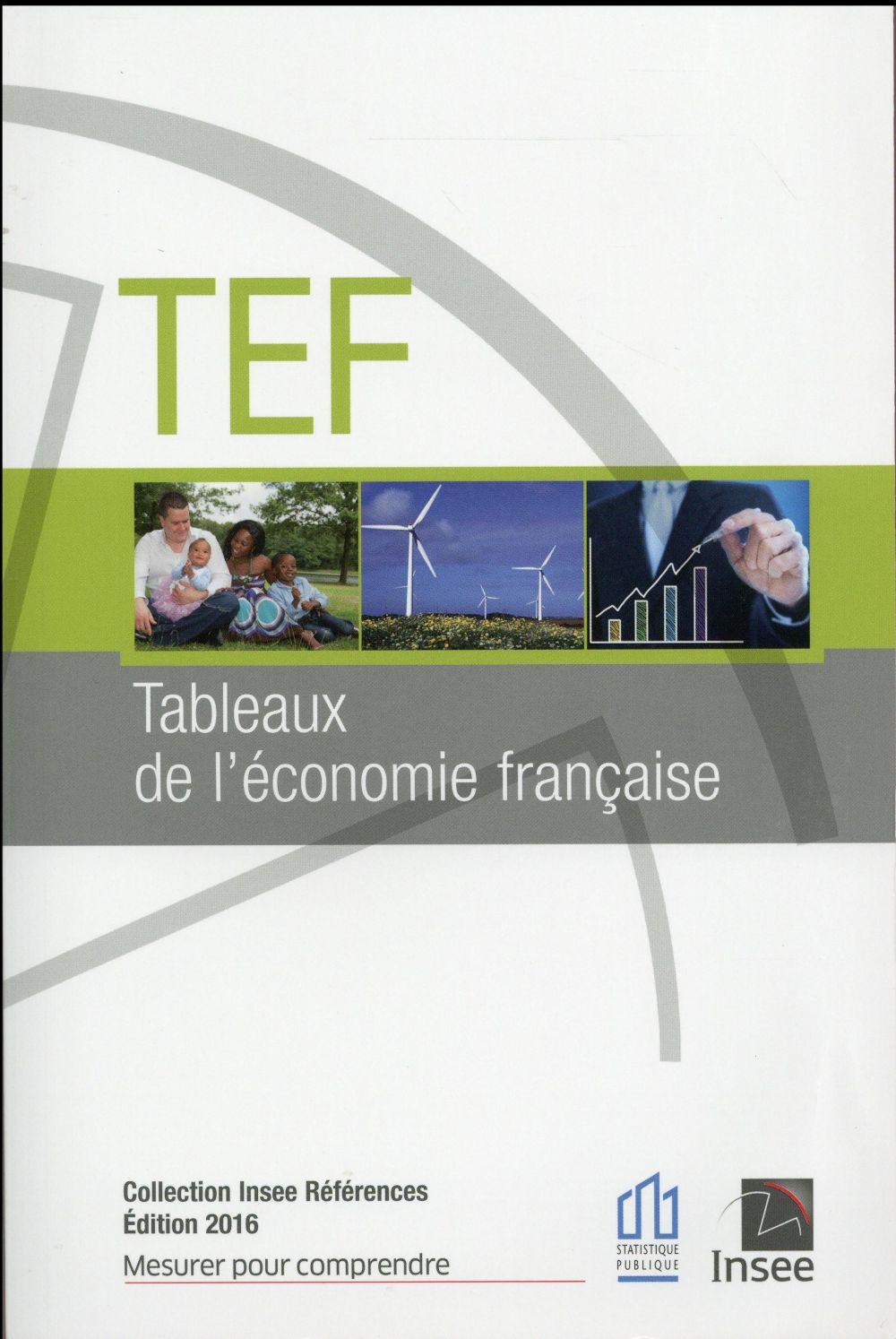 LES TABLEAUX DE L'ECONOMIE FRANCAISE 2016