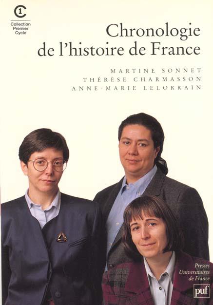 IAD - CHRONOLOGIE DE L'HISTOIRE DE FRANCE