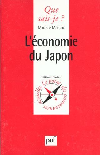 L'ECONOMIE DU JAPON