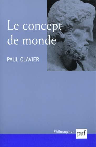 LE CONCEPT DE MONDE