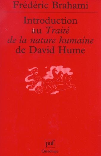 INTRODUCTION AU TRAITE DE LA NATURE HUMAINE DE DAVID HUME