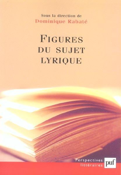IAD - FIGURES DU SUJET LYRIQUE