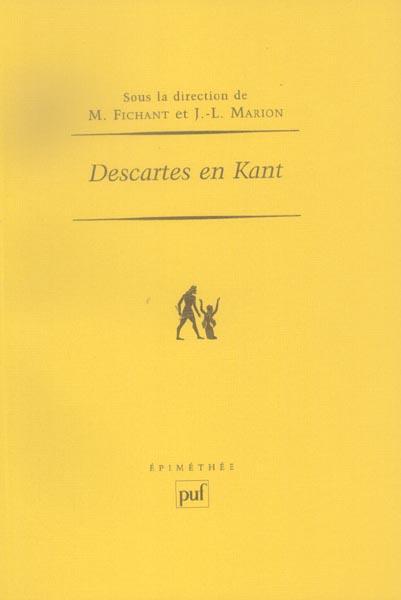 IAD - DESCARTES EN KANT
